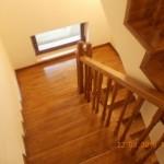 Scara de lemn 2 etaje placata cu stejar