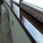 Pervaz din lemn interior tamplarie PVC