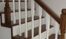 balustrada din lemn