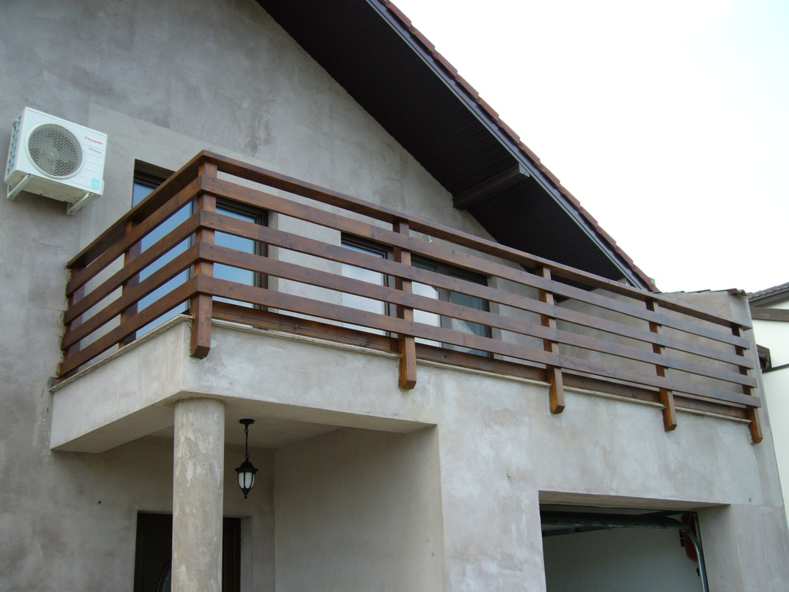 mobila pentru bucataria balustrade lemn balcon
