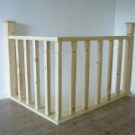 balustrada lemn brad