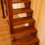 scari din lemn vanguri