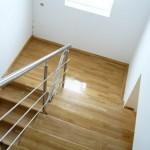 Placare scari lemn masiv cu stejar