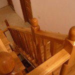 scari lemn beton
