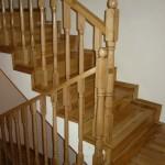Placare scari din lemn cu stejar lamela continua