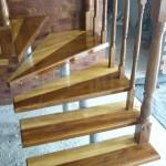 scari metal cu lemn