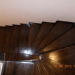 scara interioara lemn