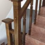 balustrada interioara lemn