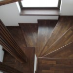 Scari lemn masiv esenta brad lux