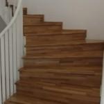 Scari lemn esenta stejar balansate