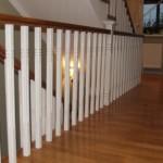 Balustrade interioare din lemn de stejar