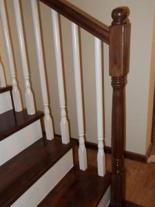 Balustrada din lemn stejar Constanta