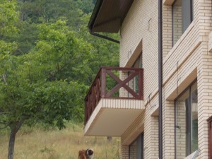 Balustrada exterior lemn Balustrada exterior lemn