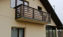 balustrada exterior brad