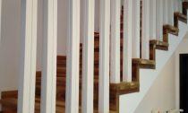 balustrada lemn stejar