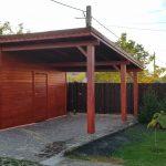 Garaj auto lemn Bragadiru