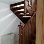 Scara lemn stejar vanguri