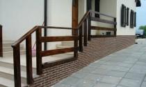 balustrade exterior lemn