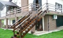 scari lemn exterioare vanguri