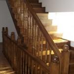 Scari din lemn esenta placare 2 etaje Constanta