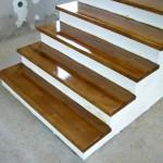 Placare scari interioare lemn cu fag Bacau