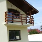 Balustrada exterioara lemn Corbeanca